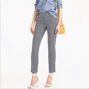 J Crew Martie Pant in Windowpane Print